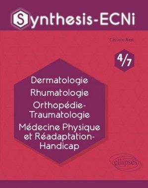 Dermatologie Rhumatologie Orthopédie-Traumatologie Médecine Physique et Réadaptation-Handicap-ellipses-9782340033092