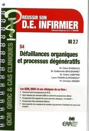Défaillances oragniques et processus dégénératifs - era grego - 9782371810679