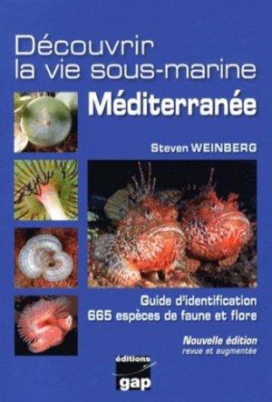 Découvrir la vie sous-marine Méditerranée - gap - 9782741704829