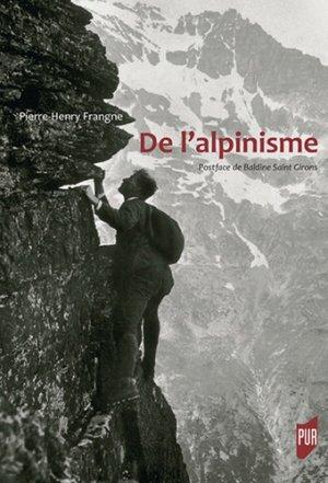 De l'alpinisme-presses universitaires de rennes-9782753576186