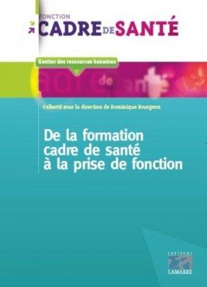 De la formation de cadre de santé à la prise de fonction - lamarre - 9782757309780
