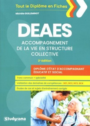 DEAES accompagnement de la vie en structure collective-studyrama-9782759038008