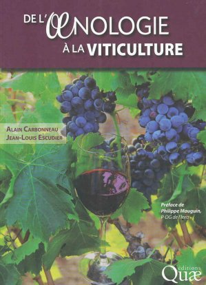De l'oenologie à la viticulture-quae-9782759225859