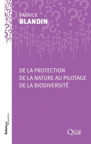 De la protection de la nature au pilotage de la biodiversité-quae-9782759229857
