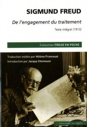 De l'engagement du traitement - Texte intégral (1913) - in press - 9782848355078
