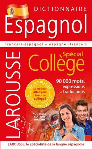 Dictionnaire Espagnol - Spécial Collège-larousse-9782035952318