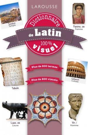 Dictionnaire de latin 100% visuel-larousse-9782035973160