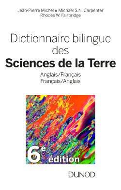 Dictionnaire bilingue des sciences de la terre-Dunod-9782100793389