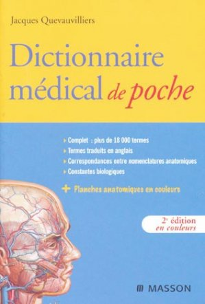 Dictionnaire médical de poche - elsevier / masson - 9782294701290