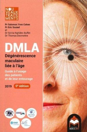 DMLA : dégénérescence maculaire liée à l'âge-medicalibris-9782490730001