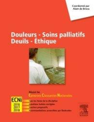 Douleurs - Soins palliatifs - Deuils - Ethique-elsevier / masson-9782294743276