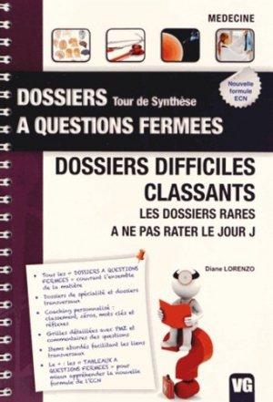 Dossiers difficiles classants - vernazobres grego - 9782818308158