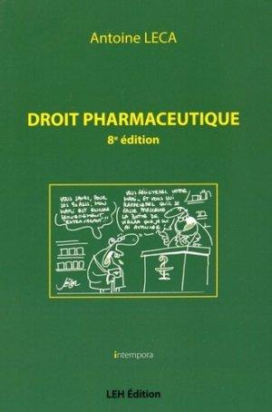 Droit pharmaceutique-les etudes hospitalieres-9782848745947