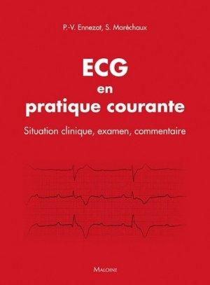 ECG en pratique courante-maloine-9782224035150