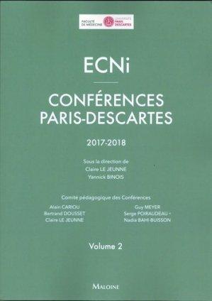 ECNi – Conférences Paris-Descartes-maloine-9782224035754