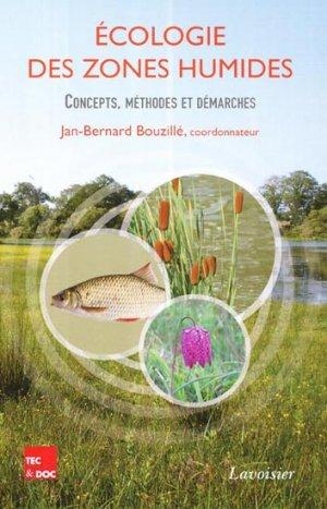 Écologie des zones humides - lavoisier / tec et doc - 9782743015503