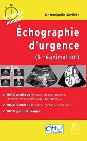 Echographie d'urgence (& réanimation) - medicilline - 9782915220940