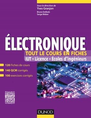 Electronique - Tout le cours en fiches-dunod-9782100722228