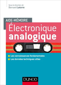 Electronique analogique - dunod - 9782100775668