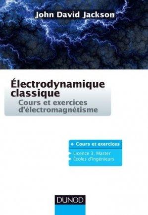 Electrodynamique classique-dunod-9782100778072
