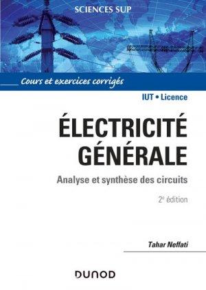 Électricité générale - dunod - 9782100798636
