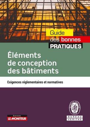 Eléments de conception des bâtiments - le moniteur - 9782281140798