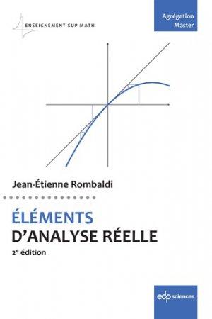 Eléments d'analyse réelle-edp sciences-9782759823390