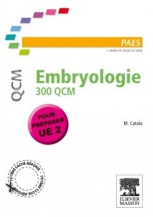 Embryologie-elsevier / masson-9782294102585