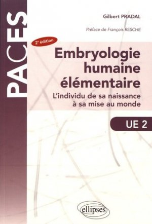 Embryologie humaine élémentaire-ellipses-9782340018983