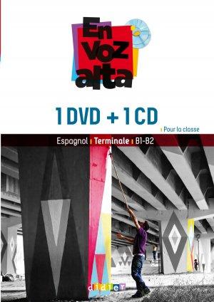 En Voz Alta Terminale : Coffret Classe 1 CD audio et 1 DVD-didier-9782278083916