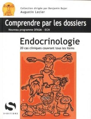 Endocrinologie - s editions - 9782356401144
