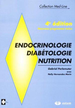 Endocrinologie Diabétologie Nutrition-estem-9782843711497