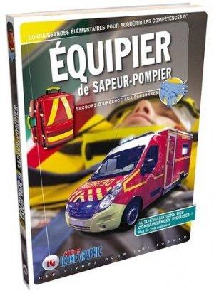 Équipier de sapeur-pompier-icone graphic-9782357385313