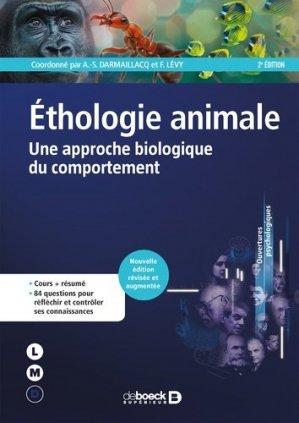 Ethologie animale-De Boeck-9782807320376