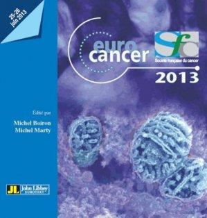 Euro cancer 2013-john libbey eurotext-9782742011247