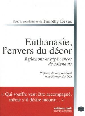 Euthanasie, l'envers du décor - mols - 9782874022456