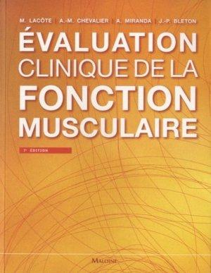 Évaluation clinique de la fonction musculaire-maloine-9782224033507