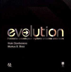 Evolution - quintessence international - 9782366150261