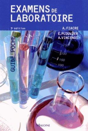 Examens de laboratoire-maloine-9782224034306