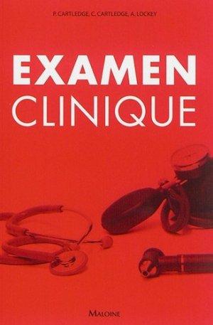 Examen clinique-maloine-9782224034375