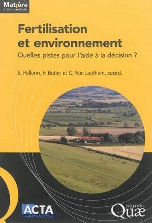 Fertilisation et environnement - quae  - 9782759220557