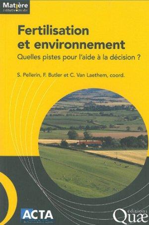 Fertilisation et Environnement-acta-9782857942801