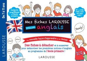 Fiches de révision Cycle 3 anglais - larousse - 9782035963574