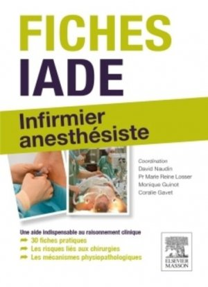 Fiches IADE-elsevier / masson-9782294743351
