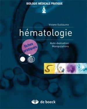 Fiches d'hématologie-de boeck superieur-9782804155575