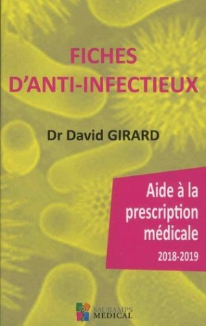 Fiches d'anti-infectieux-sauramps medical-9791030301786