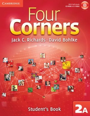 Four Corners Level 2 Student's Book A with Self-study CD-ROM and Online Workbook A Pack - cambridge - 9781107680494