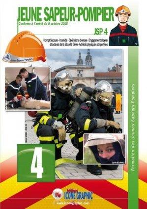 Formation des Jeunes Sapeurs-Pompiers JSP4 - icone graphic - 9782357385016