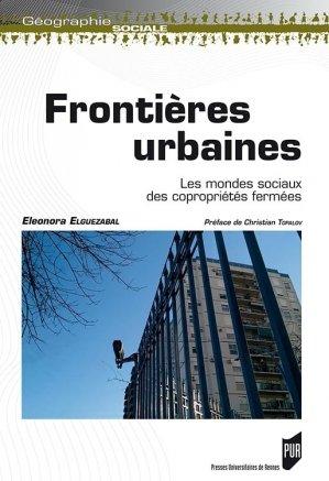 Frontières urbaines-presses universitaires de rennes-9782753541696