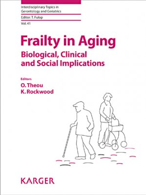 Frailty in Aging - karger  - 9783318054569
